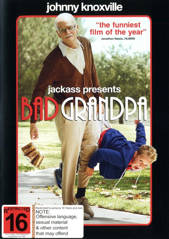 Jackass Presents: Bad Grandpa on DVD