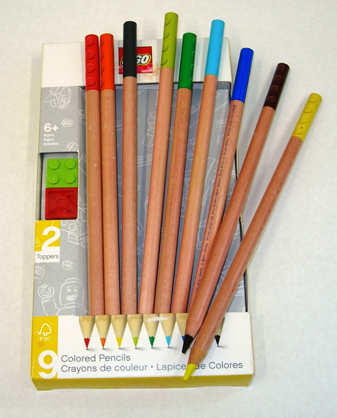 LEGO: Coloured Pencils - 9 Pack image