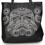 Loungefly Star Wars Stormtrooper Floral Tote