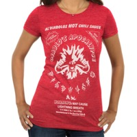 Heroes of the Storm Diablo's Chili Sauce Woman's T-Shirt (XX-Large)