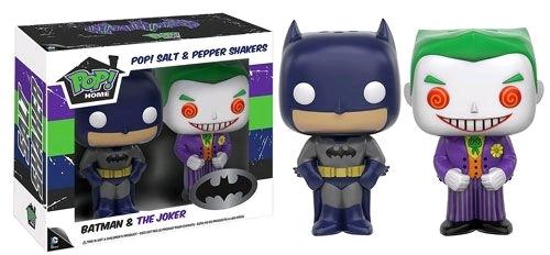 Batman - Batman & Joker Pop! Salt & Pepper Shakers
