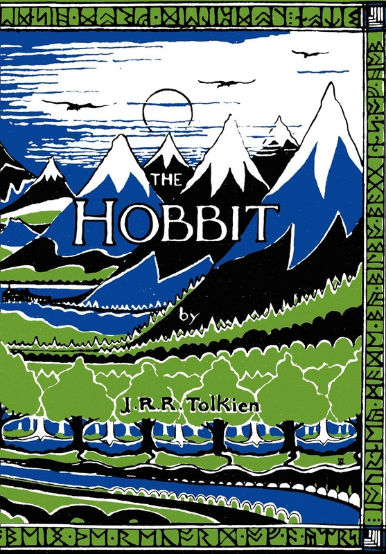 The Hobbit Facsimile First Edition by J.R.R. Tolkien