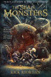 Percy Jackson and the Olympians Sea of Monsters, The: The Graphic Novel by Rick Riordan