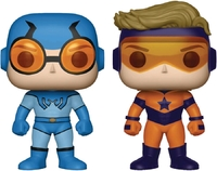 DC Comics: Booster Gold & Blue Beetle - Pop! Vinyl 2-Pack