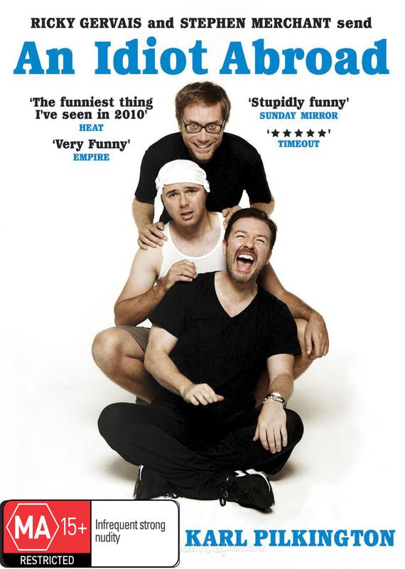 An Idiot Abroad (2 Disc Set) DVD