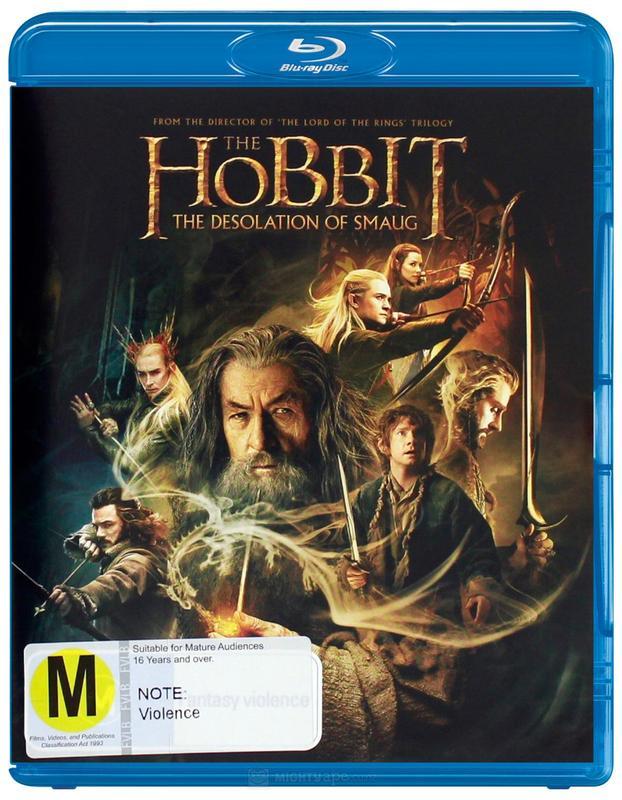 The Hobbit: The Desolation of Smaug on Blu-ray