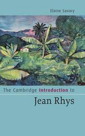 Cambridge Introductions to Literature by Elaine Savory