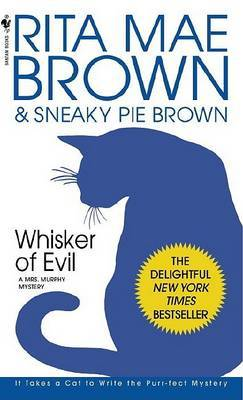 Whisker of Evil by Rita Mae Brown image