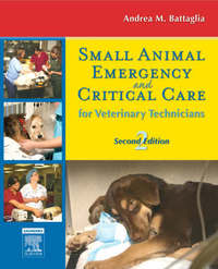 Small Animal Emergency and Critical Care for Veterinary Technicians by Andrea M. Steele image