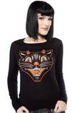 Sourpuss Lucy Fur Sweater (Medium)