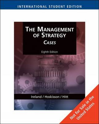 Management of Strategy by Michael A Hitt