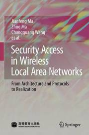 Security Access in Wireless Local Area Networks by Jianfeng Ma image