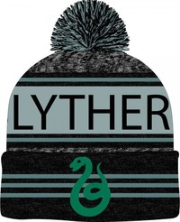Harry Potter Slytherin Marled Pom Beanie