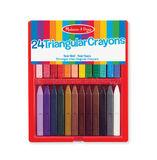 Melissa & Doug: Triangular Crayons 24 pack