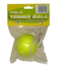 Pole Tennis Ball with String & Hook