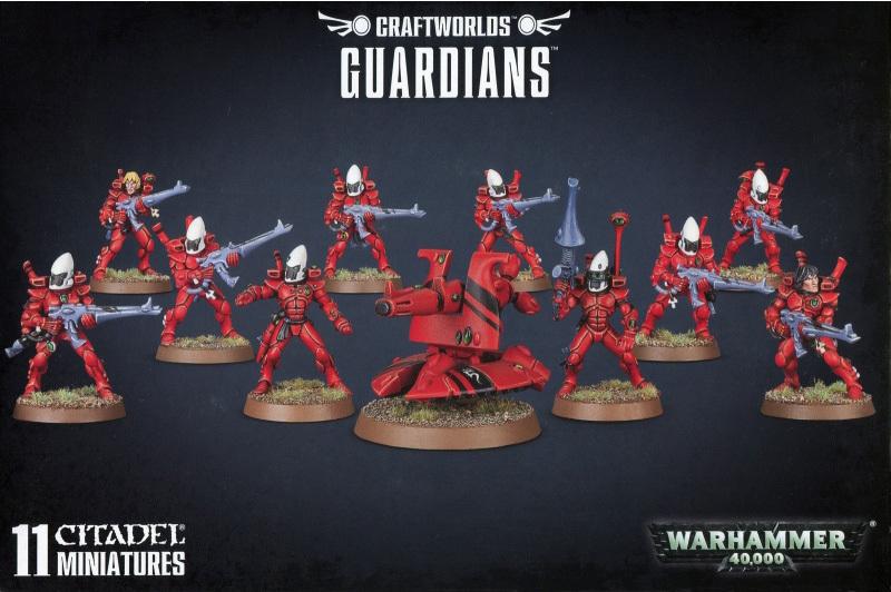 Warhammer 40,000 Craftworlds Guardians image