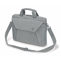 "Dicota Slim Case EDGE Carry Bag with shoulder strap for 10.1"" - 11.6"" Notebook /Laptop (Grey)"