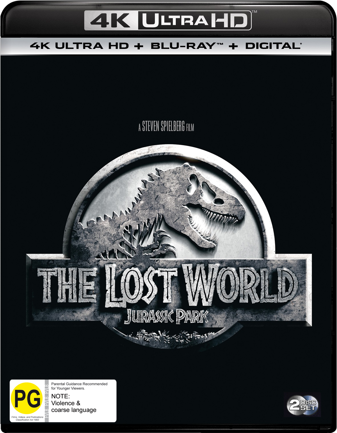 Jurassic Park II - The Lost World on UHD Blu-ray image