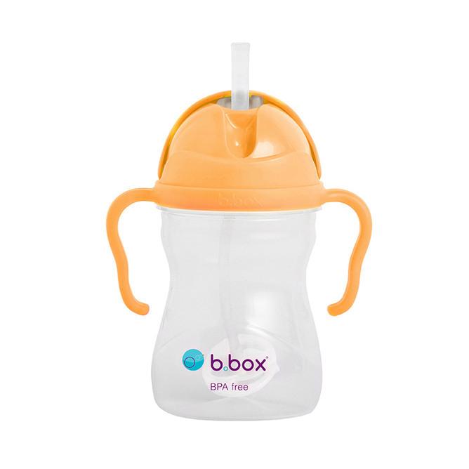 B.Box: Sippy Cup V2 - Neon Orange Zing image