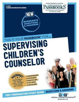 Supervising Children's Counselor by National Learning Corporation image