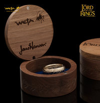 Lord of the Rings: The One Ring by Weta - Size N½, Solid Gold