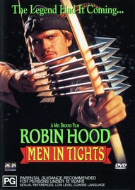 Robin Hood - Men in Tights on DVD image