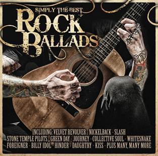Simply The Best Rock Ballads (2CD) by Various