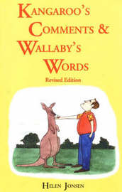 Kangaroos' Comments and Wallabys' Words - An Aussie Word Book by Helen Jonsen image