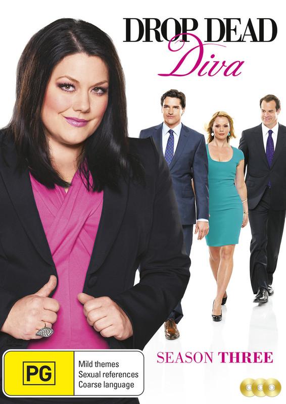 Drop Dead Diva Season 3 on DVD