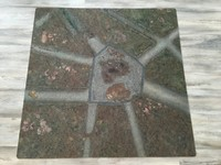 UrbanMatz Dirty Roads Gaming Mat (4x4)