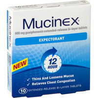 Mucinex Expectorant Tablets (10's)