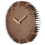 Karlsson Wooden Rib Wall Clock