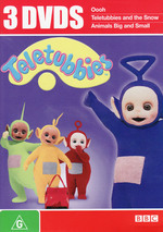 Teletubbies - 3 DVDs (3 Disc Set) on DVD