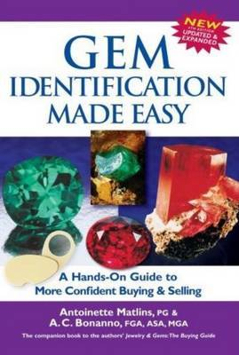 Gem Identification Made Easy by Antoinette Leonard Matlins image