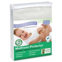 Protect-a-Bed: Bamboo Fitted Jersey Standard Cot Mattress Protector