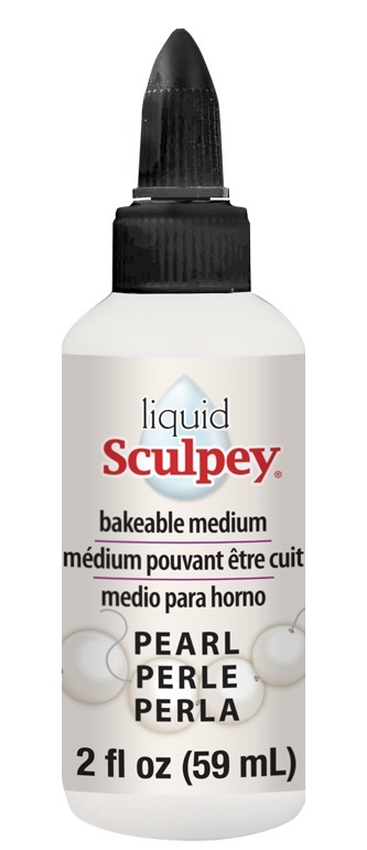Sculpey: Liquid Bakeable Clay - Pearl (59ml)
