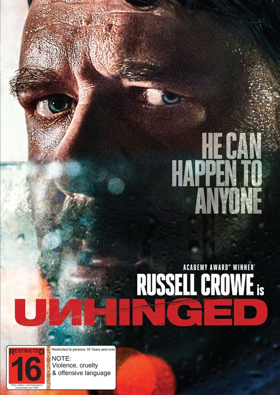 Unhinged (2020) on DVD