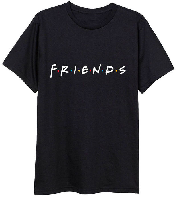 Friends: Logo - Adult T-Shirt (Size: XXL)