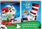 Grinch, The / The Cat In The Hat (Double Feature) on DVD