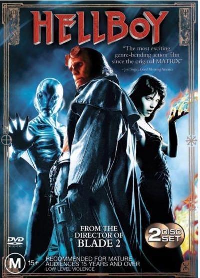 Hellboy (2 Disc Set) on DVD image
