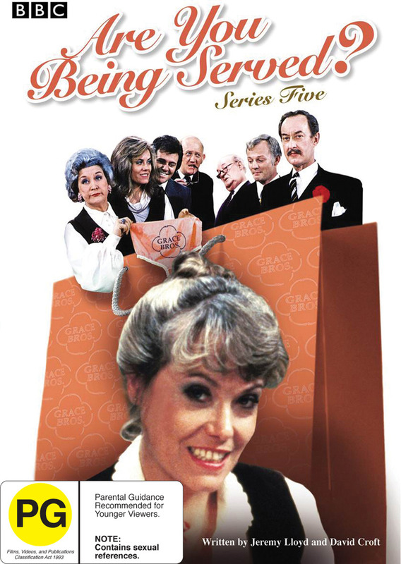 Are You Being Served? - Series 5 on DVD