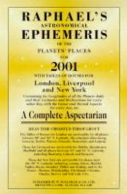 Raphael's Astronomical Ephemeris of the Planets by Edwin Raphael