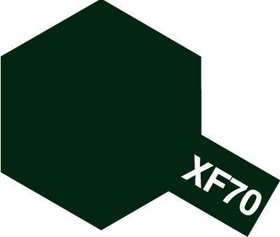 Tamiya Enamel: Dark Green 2 (XF70)