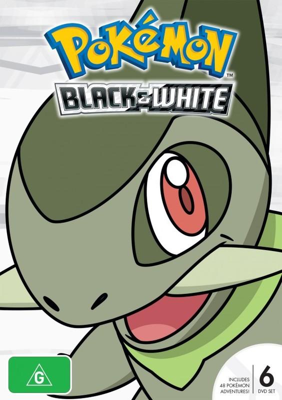 Pokemon Season 14: Black & White (New Packaging) on DVD