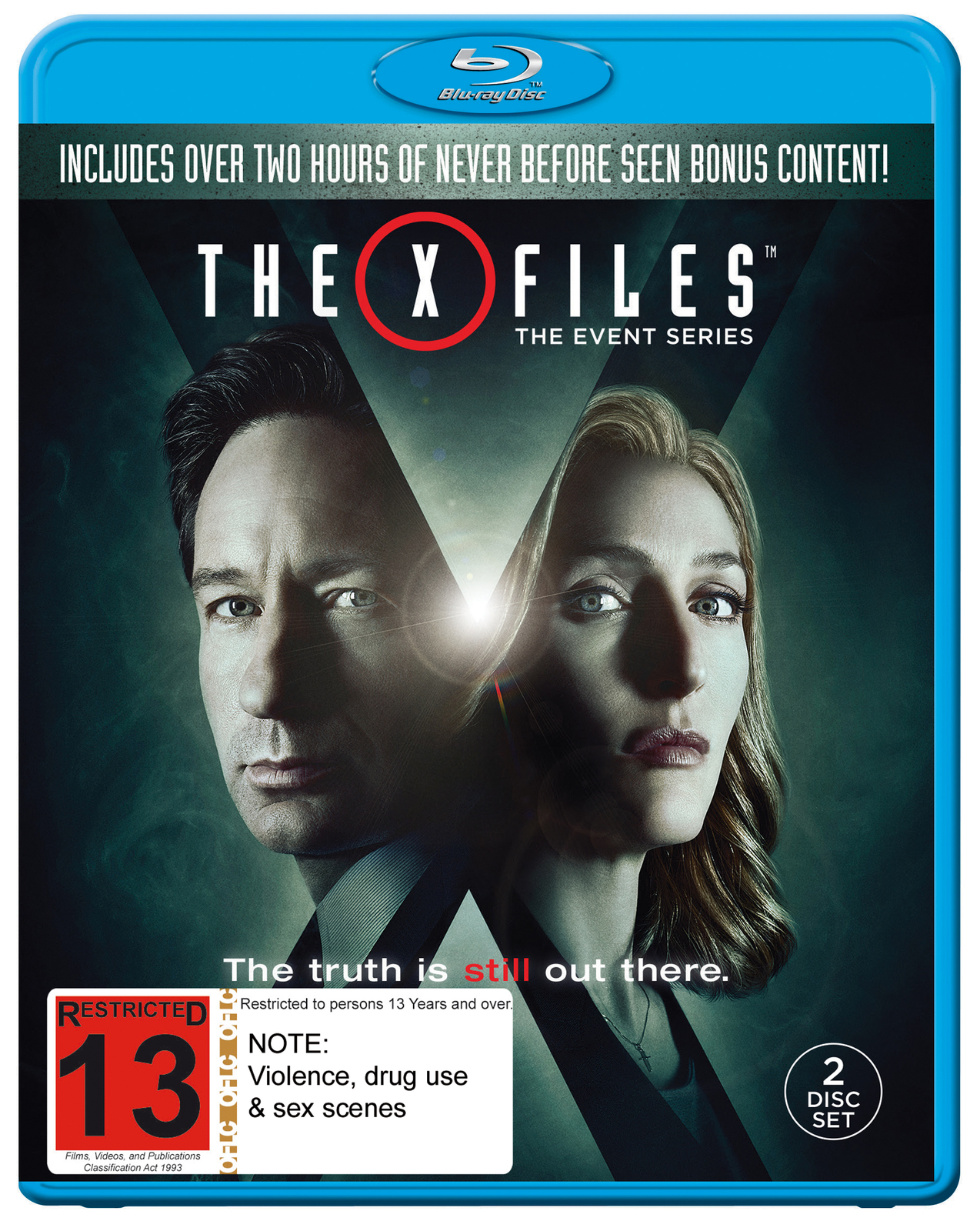 The X-Files Event Series 2016 on Blu-ray image