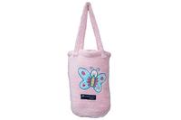 Bambury Buffy Butterfly Snuggle Rug (Pink)
