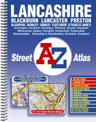 Lancashire County Street Atlas by Geographers A-Z Map Company image