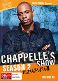 Chappelle's Show: Season 2 (3 Disc Deluxe Set) on DVD