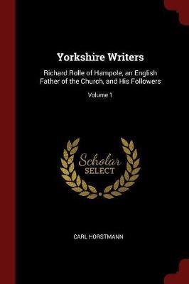 Yorkshire Writers by Carl Horstmann image