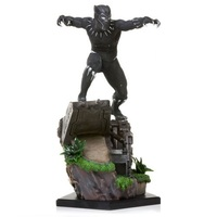 Marvel: 1/10 Black Panther - Battle Diorama Statue